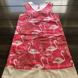 Girls Gymboree Pink Flamingo Dress